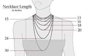 Chain Length Chart Inches Selecting A Pearl Necklace Pearl Shopping Guide Pearl Hours