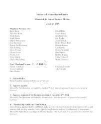 Corporate Meeting Minutes Form First Shareholder Meeting Minutes Template