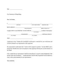 Authorization Letter For Business Representation Sample Letter Of In