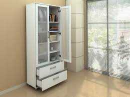 office bookcase with doors. image of white bookcase with doors and drawers office g