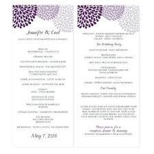 program template for wedding wedding program template free free wedding program template free