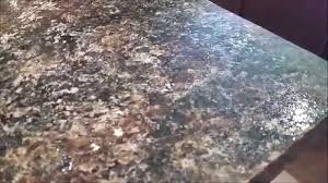 image of how to add glitter to countertop paint
