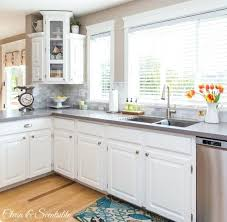how to clean white kitchen cabinets remodelling your decoration