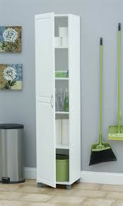 Bathroom Cabinet Slim Storage Kitchen Laundry Room Space Saving Tall