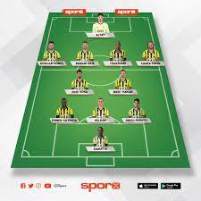Fenerbahçe kasımpaşa muhtemel 11 i Sporx İlk11