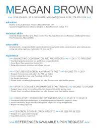 Microsoft Word Resume Template Free | Resume ~ Peppapp