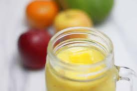 frozen mango apple banana smoothie a