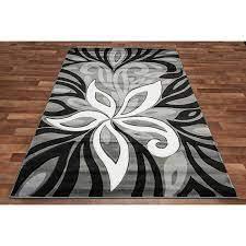 black grey white aqua area rug black