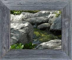 10 x 13 basic 2 barnwood frame