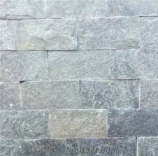 natural grey mushroomed stone wall cladding tiles brick stacked stone ledge stone
