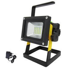 Portable Flood Lights Outdoor Amazon Com Led Work Light Rechargeable 30w Portable Flood