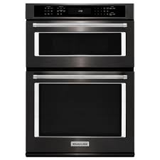 electric even heat true convection wall oven with built in