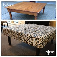 diy coffee table ottoman wooden diy turn coffee table diy storage ottoman coffee table