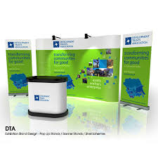 Corporate Display Stands Beauteous Pop Up Stand Design Service Exhibition Pop Up Display Graphics