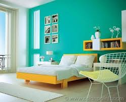 colour shades for bedroom.  Bedroom Mustard And Teal Room Design  Interior Ideas  Asian Paints  Colour Shades Inside For Bedroom