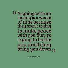 Enemies Quote Author Sonya Parker Quotes