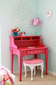 stunning desk for girls room images ideas home decor dollars teal chairs bedroom 98