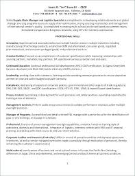 Sample Resume For Supply Chain Management College Essay Examples For