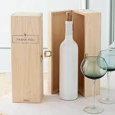 personalised custom name wine box