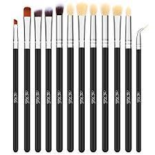 the fellie 12pcs eye makeup brushes eyeshadow brush set eyeshadow blending brushes eyeliner brush makeup brushes