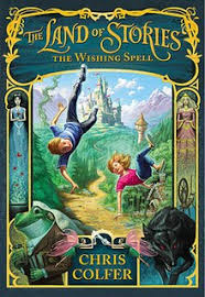 the land of stories jpg cover of the first book