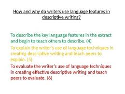 language techniques for descriptive writing by ecpublishing tpt language techniques for descriptive writing