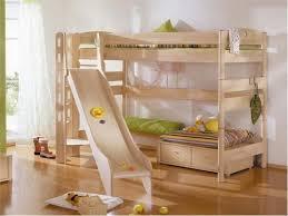 cool kids bedroom furniture. Furniture Extraordinary Wooden Bunk Bed With Slide For Cool Kids Bedrooms Interior Design Idea Bedroom D