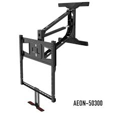 pull down tv mount for fireplace aeon 50300