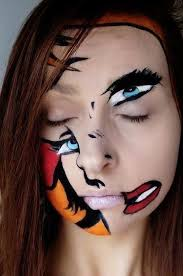 abstract makeup wizaz21 creative look for