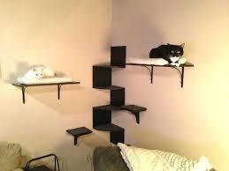 The <b>Cat</b> Mod <b>Wooden Cat Step</b> Shelf