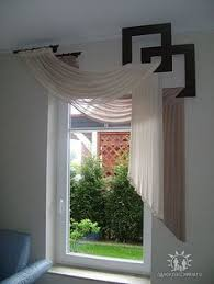 unique window treatments.  Unique Amazing Asymmetrical Swag Treatment Great For Craft Room With Unique Window Treatments W