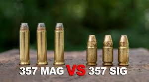 357 Sig Vs 357 Magnum A Caliber Comparison