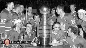 maple leafs made it three straight cup