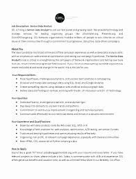 Resume Data Analyst Stunning Sql Data Analyst Resume Students And Graduates Resume Example