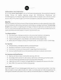 Resume Data Analyst Stunning Sql Data Analyst Resume Students And Graduates Resume Example