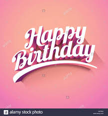 happy birthday design happy birthday vector custom 3d hand lettering typographic design