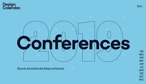 Best Design Conferences In The World Design Calendar Conference Guide 2020