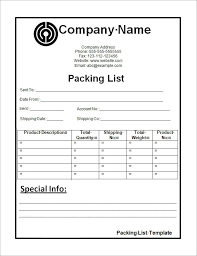 Vacation Packing List Template Pdf