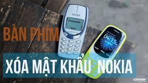 Lấy Lại Mật Khẩu Điện Thoại NOKIA Bàn Phím | Reset security code Nokia  Feature phone - YouTube