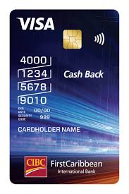 cibc firstcaribbean cash back visa credit card