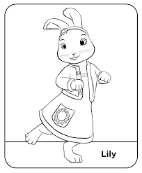 Peter Rabbit Coloring Pages Or Peter Rabbit Coloring Pages Nick Jr