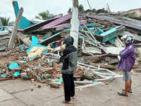 At least 10 people died and three others were missing after typhoon goni, the world's strongest typhoon this year, barrelled through the south of the philippines' main island of luzon on sunday, an initial government report showed. Earthquake Today Find Earthquake News Today Videos Of Earthquake Today The Economic Times