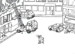 Small Picture Fire Truck Coloring Pages Corresponsablesco