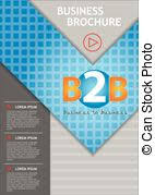 Business Annual Report Cover Page Template In A4 Print Size With
