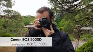 Canon EOS 2000D | Einsteiger-DSLR im Test [Deutsch] - YouTube
