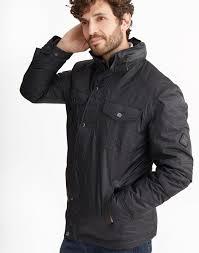 Mens Jackets & Coats | Bomber, Waterproof & Quilted | Joules & TRACKER Waterproof Biker Jacket Adamdwight.com