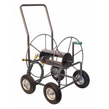 garden hose reel cart. Yard Butler Wheeled Hose Cart 400 Ft. Silver(HT-4EZ) - Ace Garden Reel U