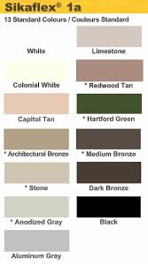 Sika 1a Color Chart Sikaflex 1a Color Chart Related Keywords Suggestions