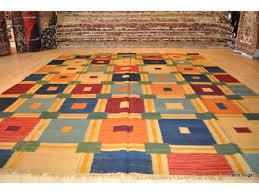 8 x 10 flat woven handmade southwester styl rug