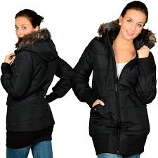 adidas padde slim coat women winter jacket black